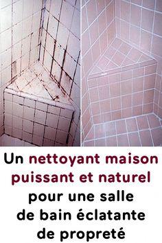 Une recette simple et efficace pour nettoyer les joints et - Comment nettoyer les joints de faience de salle de bain ...