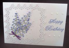Birthday   docrafts.com Birthday Posts, Happy Birthday, Flourish, I Card, Card Stock, Bows, Frame, Flowers, Projects