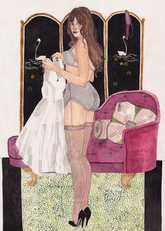Art by Caitlin Shearer: Silvia