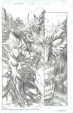 David Finch Comics | Wolverine #900 p.10 by David Finch, in David T's Original Art Comic ...