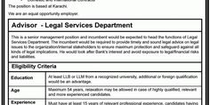 Career Opportunities (State Bank of Pakistan) - New Jobs Portal