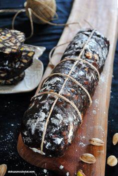 Mozaik pasta /Çikolata salamı / chocolate salami
