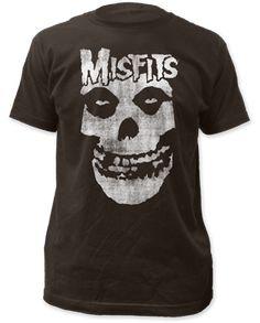 Misfits Distressed Logo Shirt