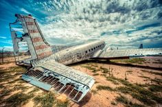 The Boneyard Project: Art on Abandoned Airplanes