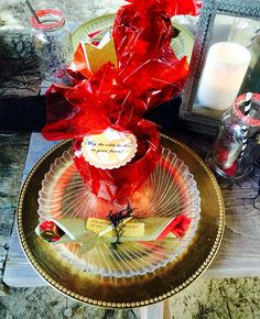 Hunger games table setting for each guest
