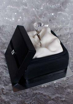 engagement cake | Verusca Walker | Flickr