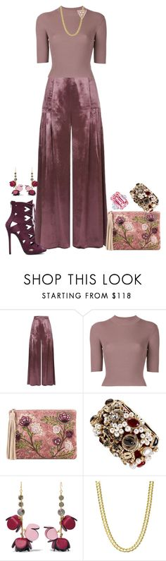 """""""Spring? Bring it on!"""" by shirley-degannes ❤ liked on Polyvore featuring Temperley London, Dion Lee, Sam Edelman, Chanel and Marni"""