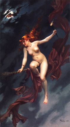 View The witches sabbath by Luis Ricardo Falero on artnet. Browse upcoming and past auction lots by Luis Ricardo Falero. Drawn Art, Season Of The Witch, Mystique, 31 Days Of Halloween, Sabbath, Erotic Art, Witchcraft, Wiccan, Les Oeuvres