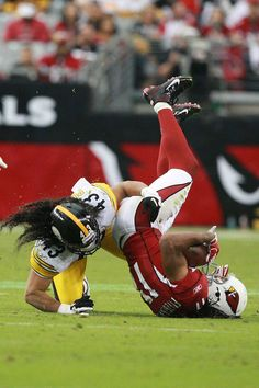Leave him alone Troy!! Larry Fitzgerald