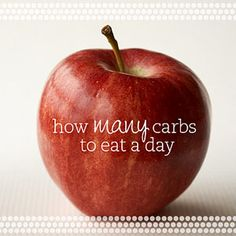 How Many Carbs to Eat a Day