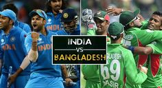 India vs Bangladesh Semi Final Live Stream Match Of ICC Champions Trophy. Today live telecast on star sports, GTV tv channels. Prediction, Preview, Results