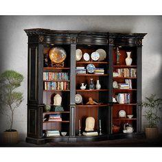 Buckingham Library Bookcase-BK 118L X 21D X 98H