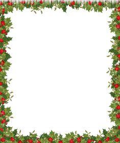Holiday Transparent Frame