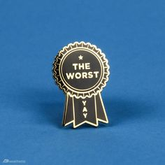 Awful Award Enamel Lapel Pin – AD Aesthetic