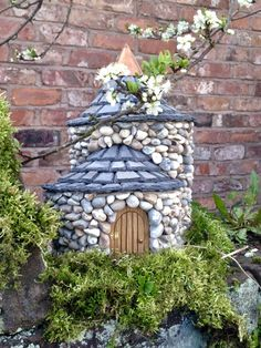 Baby Breen  Will enhance any garden or delight any child who's intent on looking for fairies! This small Fairy Tower or ' Baby Breen' as I have named it, after the Irish for 'fairy palace', is jus...