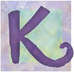 purple   K