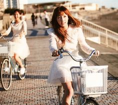 """fuckyeahseoulsisters: """" Life is like riding a bicycle. In order to keep your balance, you must keep moving. Girls' Generation Taeyeon, Girls Generation, Seohyun, Snsd, Kim Tae Yeon, Real Queens, Jessica Jung, Photo Book, Kpop Girls"""