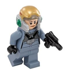 LEGO Minifigur A-Wing Pilot aus Star Wars
