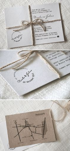 Love these invitations so much! Beautiful and simple