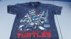 Nickelodeon Teenage Mutant Ninja Turtles TMNT Retro T-Shirt XL Comic Book #Nickelodeon #BasicTee