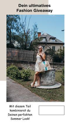 Bei diesem Gewinnspiel kannst Du Dein individuelles Stück für den Sommer gewinnen. Outfit, Love Fashion, German, Shoulder Dress, Lifestyle, Instagram, Blog, La Mode, Summer