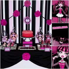 Mesa dulce monster high, draculaura