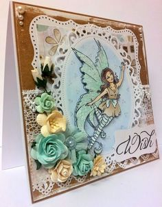 Made using Vilda Stamps.    For more info please see my blog - http://kittyskrafty.blogspot.co.uk/2013/03/fiona-fairy.html