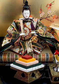 Japan - March 3rd Hina Festival Emperor Doll