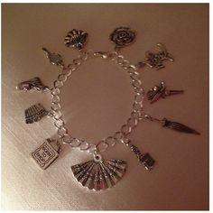 Girly charm bracelet