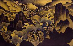 Nicholas Roerich -  Geburt und Tod