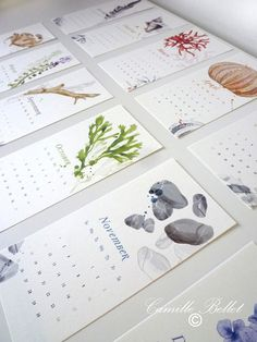 Wall calendar from camillebellet on #Etsy for $20