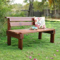 Quetzel Banc Bench | Made of Red Meranti Wood | #furniture | www.zansaar.com