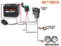 led light bar wiring diagram with switch    led       light       bar     amp  relay wire up polaris rzr forum rzr     led       light       bar     amp  relay wire up polaris rzr forum rzr