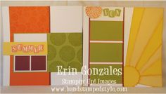 Hand Stamped Style: Scrapbooking