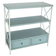 Louise Console Table- Make something like this for the kitchen- to hold bread and cute plates