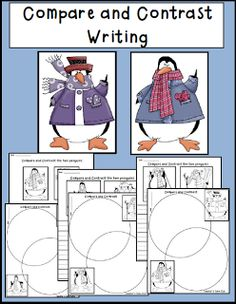 Freebie! Compare and Contrast Penguins