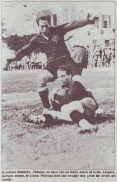 ISIDRO LANGARA,con la SELECCIÓN ESPAÑOLA DE FÚTBOL, 1934.