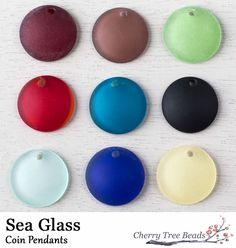Sea Glass Pendants