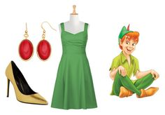 """""""My peter pan set"""" by fashioninlodon ❤ liked on Polyvore featuring beauty, eShakti, Yves Saint Laurent and Sonoma life + style"""