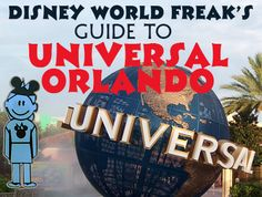 A Disney World freak's guide to Universal Orlando - how to fit Universal into a WDW trip, touring without Express Passes, info on staying on-site, etc., etc.
