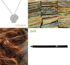 Eleanor & Park Eleanor And Park, Rainbow Rowell, Cool Artwork, Love Story, Fangirl, Crochet Necklace, Fandoms, Books, Movies