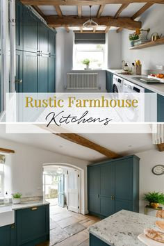 Discover these two truly rustic style farmhouse kitchens brought to life and showcased on BBC Channel 4's Old House New Home hosted by George Clarke and both featuring our Armac Martin luxury solid brass hardware. Brass Kitchen, Kitchen Cabinet Hardware, Brass Hardware, Rustic Farmhouse, Farmhouse Kitchens, George Clarke, Shaker Style Kitchens, Country Interior, Modern Kitchen Design