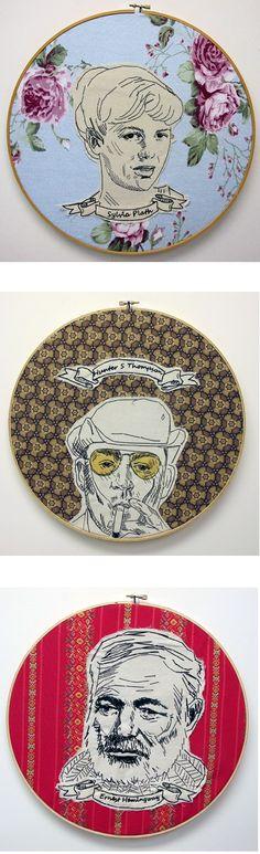 by Lucky Jackson via theartcake.com