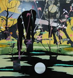 Dianne Tanzer Gallery + Projects | Neil Haddon - Grafted Landscape Rootstock 2011 New Artists, Artist Painting, Contemporary Art, Mixed Media, Landscapes, Inspire, Paintings, Gallery, People