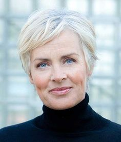 14. Short Haircut for Older Women