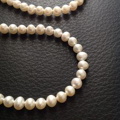 Not Your Mother's Pearl Necklace