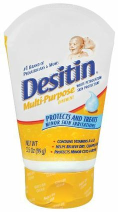 $18 Desitin Clear Multi-Purpose Ointment, 3.5 Ounce (Pack of 3) by Desitin, http://www.amazon.com/dp/B001E96NRK/ref=cm_sw_r_pi_dp_345nrb1Q6DPJP