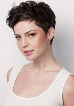 Short Wavy Pixie Haircut