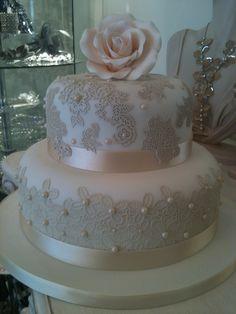 Lace cake by Susan McEvoy