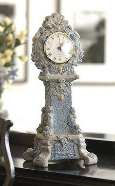 polym. clock ala porcelain!  Beth Wegener